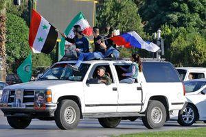 Người dân Damacus, Syria hành động sau loạt không kích