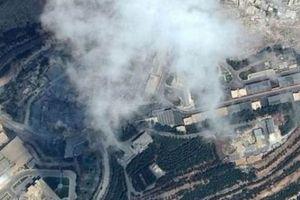 Hình ảnh tan hoang ở khu vực chứa vũ khí hóa học của Syria