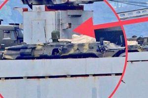 Tàu chiến Nga chở đầy khí tài trên đường tới Syria