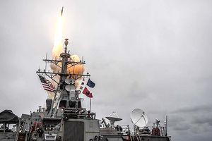 105 tên lửa đã dội xuống Syria