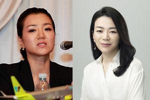 Con gái của nhà tài phiệt Hàn Quốc thẳng tay ném chai nước vào mặt nhân viên