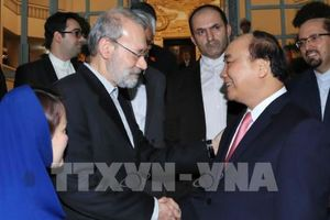 Thủ tướng Nguyễn Xuân Phúc tiếp Chủ tịch Quốc hội Cộng hòa Hồi giáo Iran