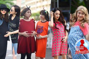 Trường Giang, Trấn Thành, Hứa Vĩ Văn hóa bà bầu, đại náo phố đi bộ trong ngày ghi hình Manbirth 2018