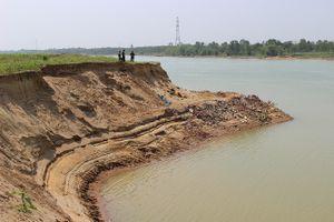 Nạn cát tặc trên dòng sông Chu, cơ quan nào xử lý?