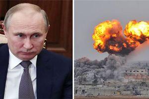 Tàu chiến, vũ khí Nga rầm rập tiến đến Syria