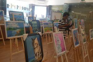 TP HCM: Triển lãm tranh gây quỹ nghệ thuật và cuộc sống qua đôi mắt trẻ thơ
