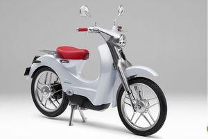 Honda EV-Cub sẽ đi kèm với công nghệ pin tháo rời