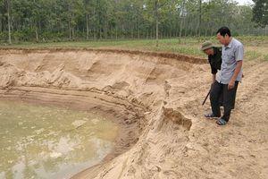Huyện Thiệu Hóa, Thanh Hóa: Chủ tịch xã sẽ từ chức nếu không dẹp được 'cát tặc'