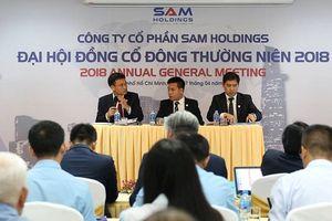 ĐHĐCĐ SAM Holdings: Đã thoái vốn khỏi DXG, thu lãi khoảng 130 tỷ đồng
