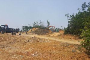 Hà Tĩnh: Chính quyền 'bất lực ', doanh nghiệp ồ ạt khai thác đất trái phép?