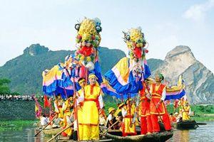Lễ kỷ niệm 1050 năm Nhà nước Đại Cồ Việt và Lễ hội Hoa Lư 2018 sẽ tổ chức vào tối 24/4