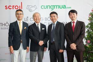 Cát Đông hợp tác cùng tập đoàn Scroll