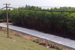 Ba Vì đã xử lý dứt điểm đường ống hút cát đặt dưới lòng sông Hồng
