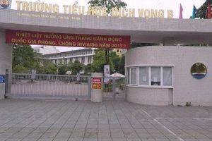 Hà Nội: Học sinh rơi từ tầng 4 xuống đất vào giờ nghỉ trưa
