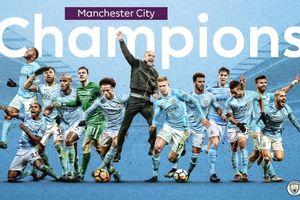 5 ngã rẽ giúp Man City vô địch giải đấu mùa bóng 2017-2018