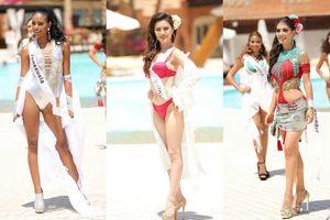 Để tăng cân mất kiểm soát, đại diện Việt nói tiếng Anh dở tệ 'trắng tay' trong phần thi bikini