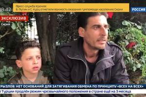 Truyền thông Nga tung video chứng minh vụ tấn công vũ khí hóa học tại Syria là dàn dựng