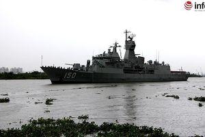 Lùi sự kiện đón 3 tàu chiến Hải quân Australia thăm TP.HCM sang 15h chiều nay