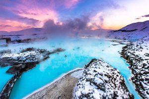 Đắm mình ở Blue Lagoon - 'spa tự nhiên' đẹp như tranh tại đất nước Iceland