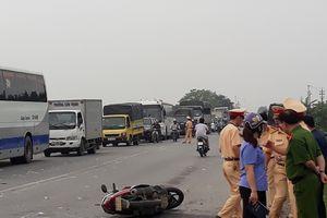 Thái Bình: Xe tải gây tai nạn liên hoàn, một phụ nữ tử vong tại chỗ