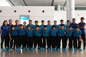 Tuyển Futsal nữ Việt Nam sang Trung Quốc tập huấn