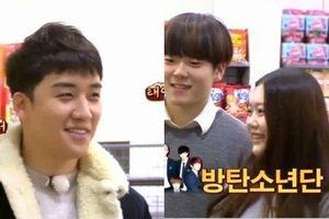 Gặp cô nàng nhận mình là fan BTS, đây là phản ứng đáng yêu của Seungri (BigBang)