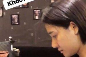 Lộ ảnh Nhã Phương khóc sau tin đồn chia tay Trường Giang hẹn hò Nhan Phúc Vinh