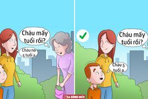 Muốn trẻ trưởng thành, cha mẹ không nên làm 7 điều này