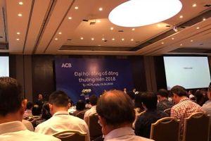 Nhóm cổ đông liên quan đến bầu Kiên không có trong danh sách ứng viên bầu vào HĐQT ACB