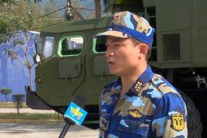 Hải quân Việt Nam huấn luyện với tên lửa bờ hạng nặng