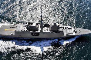 Soi khinh hạm của Pháp vừa tham gia không kích Syria