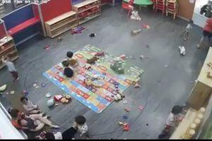 Nghệ An: Tạm đình chỉ giáo viên cơ sở mầm non ABC đánh trẻ