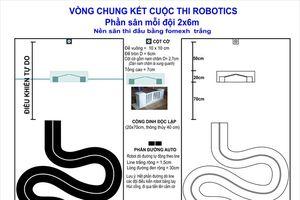 Học sinh Thái Bình lập trình robot điều khiển bằng smartphone