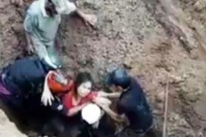 Vợ chồng bị 'chôn sống' dưới lòng đất kể về giây phút sinh tử