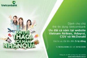 Chủ thẻ tín dụng Vietcombank 'xài thẻ thả ga, cả năm nhận quà'