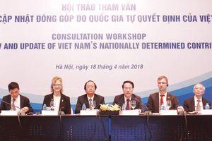 Cập nhật báo cáo đóng góp do quốc gia tự quyết định của Việt Nam