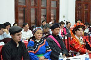 10 năm thực hiện Ngày văn hóa các dân tộc Việt Nam: Hơn 80 cá nhân, tập thể được khen tặng