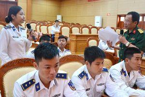 Bộ tư lệnh Vùng Cảnh sát biển 1 bảo đảm tốt quyền làm chủ của mọi quân nhân