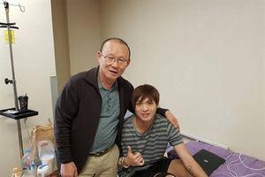 HLV Park Hang Seo nói với Tuấn Anh: 'Thầy chờ em hồi phục'