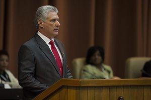 Tân Chủ tịch Cuba Miguel Diaz Canel Bermud đắc cử với 1 phiếu chống