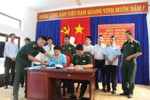 Phối hợp đảm bảo an ninh trật tự tại cảng Dung Quất