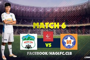 Video trực tiếp HAGL vs SHB Đà Nẵng vòng 6 V-League