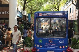 Khánh thành xe buýt sách tại TP Hồ Chí Minh