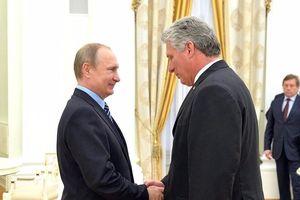 Ông Putin chúc mừng tân Chủ tịch Cuba, gửi điện cảm ơn ông Raul Castro