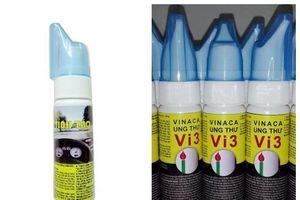 Mỹ phẩm ung thư Vi3 của Vinaca: Sở Y tế Hải Phòng cấp phép 'lạ đời'?
