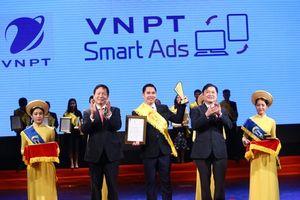 VNPT lập 'hat-trick' trong chương trình bình chọn Sao Khuê 2018