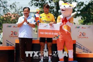 Nguyễn Tấn Hoài tiếp tục về nhất chặng đua 22 Giải xe đạp Cúp Truyền hình TP Hồ Chí Minh