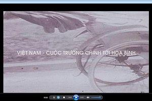 Công bố phim tư liệu quý hiếm về chiến tranh Việt Nam