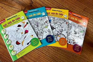Có gì lạ ở bộ sách luyện óc quan sát, tập trung cho trẻ?