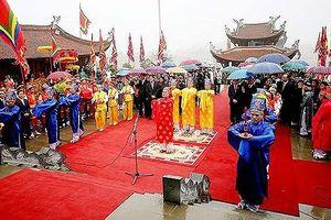 Bắt đầu các hoạt động Giỗ Tổ Hùng Vương - Lễ hội Đền Hùng 2018